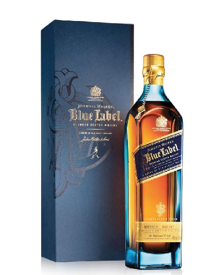 Johnnie Walker Blue Bot 750cc con estuche: